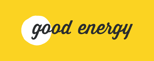 Good Energy logo on Energylinx.co.uk